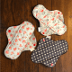 Handmade Reusable Menstrual Pads with Organic Cotton Fleece