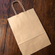 Reusable Kraft Paper Gift Bags