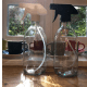 Clear Glass Spray Bottle